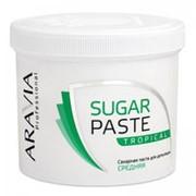 Aravia Aravia Сахарная паста для депиляции Тропическая средней консистенции (Sugaring) 1016 750 г фото