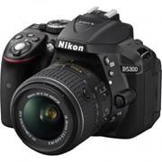 Цифровой фотоаппарат Nikon D5300 + AF-P 18-55VR kit (VBA370K007) фото