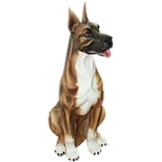 Скульптура Немецкий дог/ Собака арт.CB-417-T Boxer фото