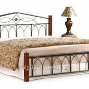 Кровать Миранда М двуспальная каштан (160х200) фото