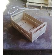 Ящики деревянные тарные. Ящики шпоновые для картофеля фото