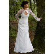 Платье свадебное ажурное Амелия фото