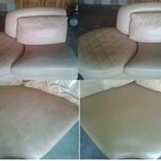 Покраска (реставрация) мебели из кожи фото