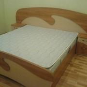 Кровать двухспальная волна фото
