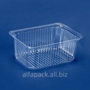 Упаковка пластиковая АЛЬФА-ПАК ПС-160 прозрачная фото