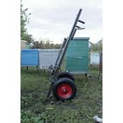 Оборудование для пчеловодства- пасечная тележка с подъемной кареткой для перемещения ульев и грузов на пасеке. фото