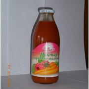 Нектар морковно-малиновый фото
