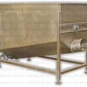 Бункер накопитель со шнековым питателем фото
