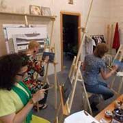 Мастер-класс по живописи, мастер-класс по керамике фото