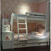 Кровать двухъярусная Артикул: MERMAID фото