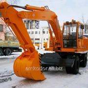 Экскаватор колесный EW-1400 фото