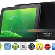 Планшетный ПК Newsmy S9 Dual Core Tablet PC 9,7 дюймовый экран Android 4.1 Jelly Bean 1 Гб оперативной памяти фото