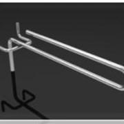 Крючок одинарный U-образный для перфорации КОUп-100/50, КОUп-150/50, КОUп-200/50, КОUп-250/50, КОUп-300/50 фото