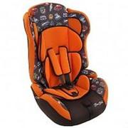 BamBola Автокресло детское 9-36 кг Bambola Primo Путешествие Оранжево/Коричневый (KRES2333) фото