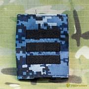 Фальшпогоны сержант синяя цифра темная с лычками фото