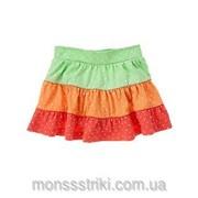 Трикотажная юбка в горошек 12-18, 18-24 месяца, 2 года фото