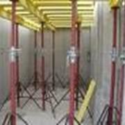 Стойки телескопические для опалубки, конструкция и производство телескопических стоек фото
