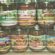 Фасоль со шпиком (растительное масло) в томатном соусе ГОСТ 17649-72 фото