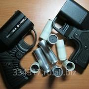 Пистолет бесствольный Оса с лазером фото