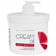 Aravia Aravia Крем для рук с маслом арганы и сладкого миндаля (SPA / Cream Oil) 4005 550 мл фото