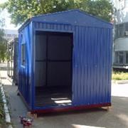 Домики вагончики, бытовки, Блок контейнеры утеплённые фото