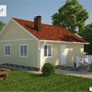 Проект каркасного дома № 2 фото