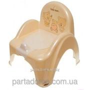 Горшок-кресло Tega веселка ms-012 teddy bear капучино фото