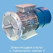 Двигатель асинхронный трехфазный с тормозом фото