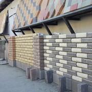 Кирпич строительный гиперпрессованный. Цветовая гамма: Черный, Белый, Желтый, Зеленый,Оранжевый,Красный, Коричневый и др. фото