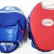 Лапа боксерская изогнутая FLEX Shock padding ULI-3078 фото