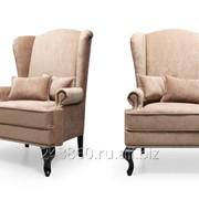 Английское кресло с ушами velvetlux фото