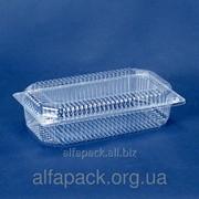 Одноразовая блистерная упаковка ПС-121, 230*130*63 фото