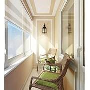 Обшивка балконов вагонкой фото