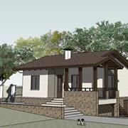 Дом из СИП-панелей двухкомнатный фото