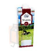 Молоко ультрапастеризованное Молочный гостинец 6% 1л тетра-пак с крышкой фото