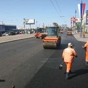 Ремонт дорог. фото