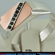 Перстень печатка 410з фото