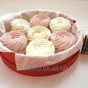 Круглая коробка для сладостей 200х50мм фото