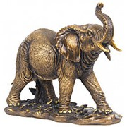 Скульптура Слон Индийский 43х33х19см. арт.МК1069 фото