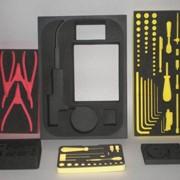 Безопасная специальная упаковка для приборов, техники из вспененного полиэтилена фото