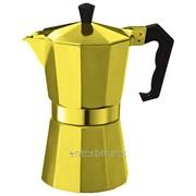 Кофеварка гейзерная Con Brio CB6009GD + запасная прокладка DDP, код 128893 фото