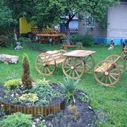 Мебель садовая из лозы фото
