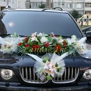 Украшение свадебных кортежей фото