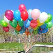 Доставка шаров с гелием фото
