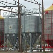 Мобильная зерносушилка фото