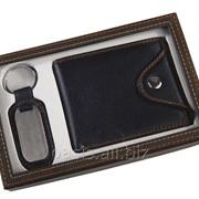 Подарочный набор: портмоне, брелок фото