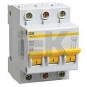 Выключатель автоматический 3-пол.16A B 4,5кА ВА47-29 IEK фото