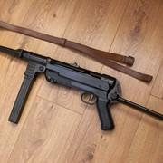 ММГ Пистолет-пулемёт МР-40 Шмайсер С кожанным ремнем фото