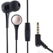 Наушники вкладыши с микрофоном Hoco M19 Drumbeat Black мобильная гарнитура, черные фото