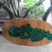 Скимборд ручной работы eSkimo фото
